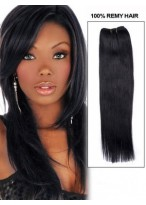 """16"""" Straight Remy Human Hair Extension"""