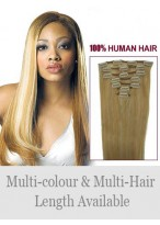 "18"" Lovely Straight Human Hair Extension"
