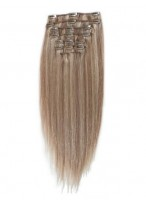 """10 Pcs From 14"""" Concise Straight Clip In Full Head Set"""