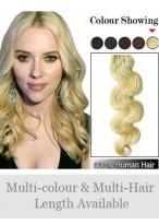 Tangle Wavy Full Head Rmey Hair Extensions