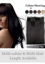 """20"""" PU Skin Weft 100% Human Hair Extensions"""