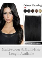 20 inches PU Skin Weft Remy Human Hair Extensions