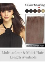 """20"""" PU Skin Weft Straight Hair Extensions"""