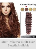 Deep Wave Remy Hair Weft Extensions