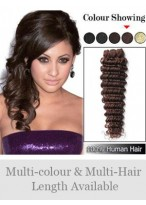 Wonderful Deep Wave Remy Weft Extensions
