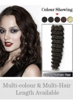 High Quality Deep Wave Indian Remy Weft Extensions