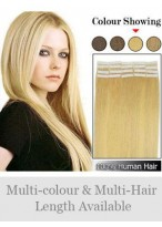 "Attractive 16"" 20pcs Soft Tape in Hair Extensions"