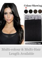"Cute 16"" 20pcs Remy Hair Tape in Hair Extensions"
