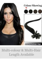 """18"""" Graceful Remy Hair Nail Tip Extensions"""