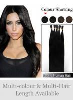 "18"" 100% Human Hair Elegant Stick Tip Extensions"