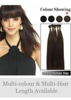 "Fashionable 18"" 100% Human Hair Stick Tip Extensions"