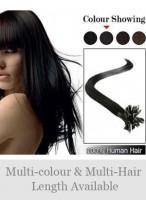 "Wonderful 18"" 100% Human Hair Nail Tip Extensions"