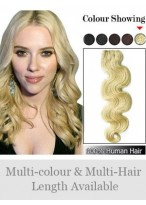Wavy Full Head Tangle Free Synthetic Extension