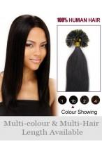 "Glamorous 26"" Straight Nail Tip Human Hair Extension"