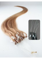 Natural Micro Loop  Human Hair Extensions