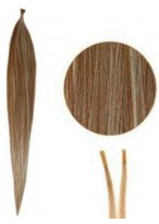 Attractive Silky Straight Stick/I Tip Hair Extensions