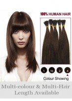 """16"""" Charming Stick Tip Remy Human Hair Extensions"""