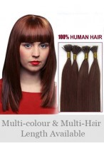 """16"""" Glamorous Stick Tip Remy Human Hair Extensions"""