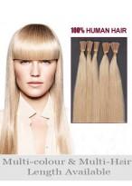 "18"" Elegant 100% Human Hair Stick Tip Extensions"