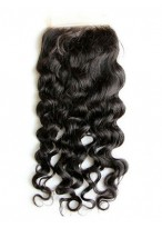 Top Quality Free Part Remy Hair Deep Wave Lace Closure