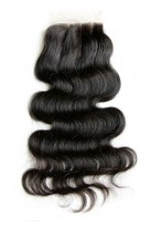 Three Part Remy Hair Body Wave Lace Closure