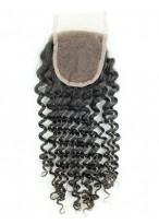 Deep Wave Free Part Human Hair Lace Closure