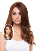 Long Wavy Remy Human Hair Hairpieces