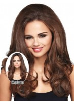 Long Wavy Synthetic Clip in Hairpieces