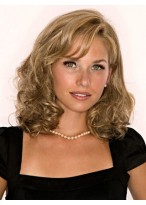 """10"""" Wavy Remy Human Hair Hairpiece"""