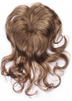 Polished Top Blend S Clip in Hairpiece