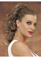 Morden Layered Clip in Hairpiece