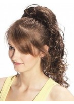 Charming Pony Curl Clip in Hairpiece