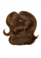 """10"""" Comfortable Remy Human Hair Clip in Hairpieces"""