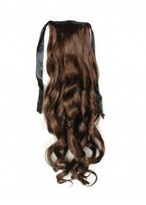 "16"" Long Wavy Synthetic Hair Ponytail"