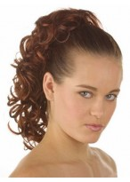Nice Curly With Claw Clip Synthetic Ponytail