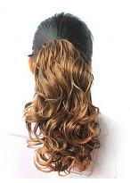 Pretty Curly Dark Brown Ponytail