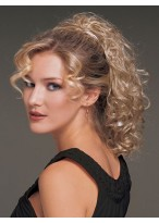 Curly Synthetic Claw Clip Ponytail