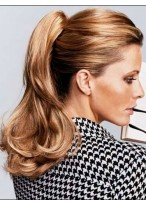 Claw Clip Synthetic Ponytail