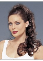 Synthetic With Clip Attachment Ponytail