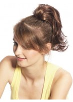 Medium-Length Ponytail With Claw Clip