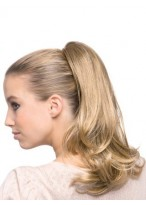 Synthetic Ponytail With Butterfly Clip