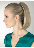 Straight Bob Shape Synthetic Ponytail With Clip