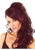 Loose Wavy With Clip Attachment Synthetic Ponytail