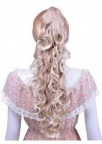 """24"""" Gorgeous Long Wavy Synthetic Hair Ponytail"""