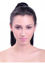 """22"""" Long Straight Synthetic Hair Ponytail"""
