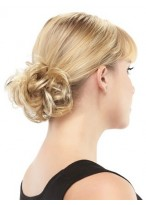 Blonde Synthetic Wrap