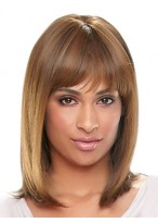 Long Silky Straight Synthetic Wig