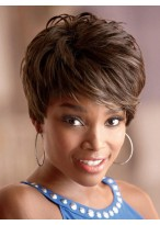 Chic Nadia Short Capless Synthetic Wig