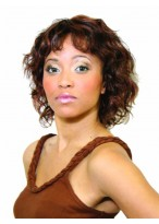 Medium Wavy Synthetic Wig For Black Women