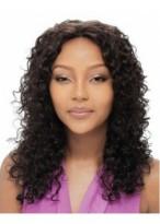Curly Long Capless Human Hair Wig